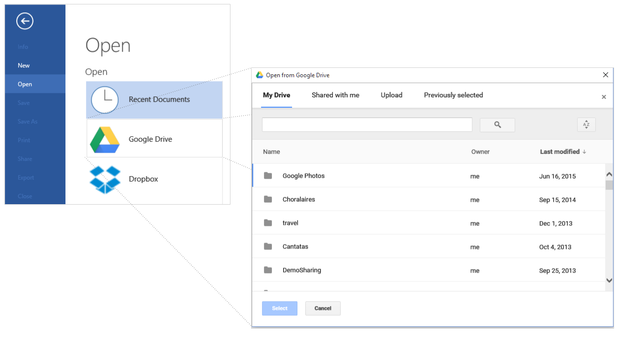 a-in-office-open-from-google-drive
